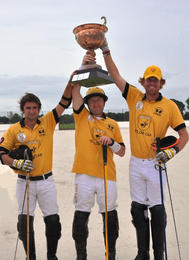Yellow Cab Team Trophy Winners